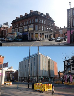 Pembroke Place, Liverpool 3.  September 2016 and May 2018.