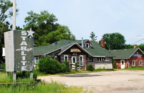 Abandoned Starlite Lodge - Packwaukee, Wisconsin