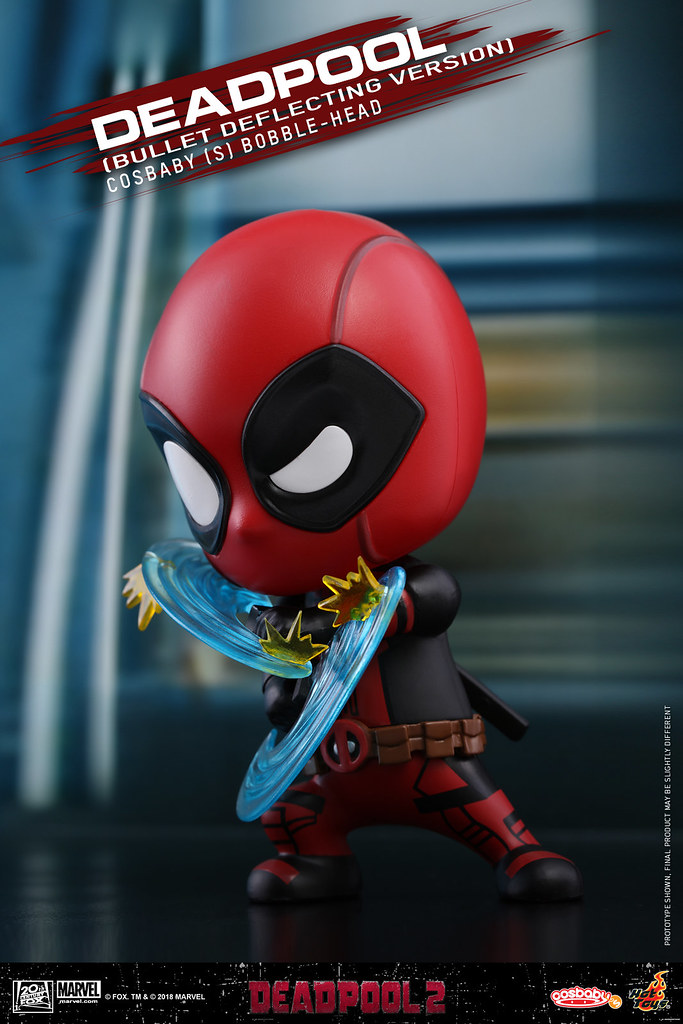 「你的子彈來的好急好快啊!」Hot Toys – COSB507-512 -《死侍2》死侍 Deadpool Cosbaby (S) Bobble Head Series