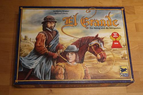 """Brettspiel """"El Grande"""""""