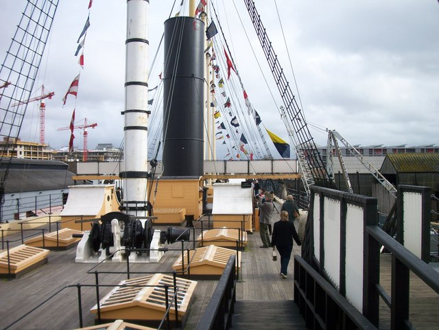 Aboard SS Great Britain
