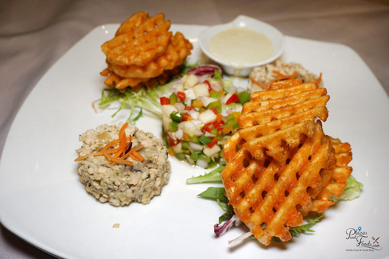 michaelangelo pavilion potato waffle