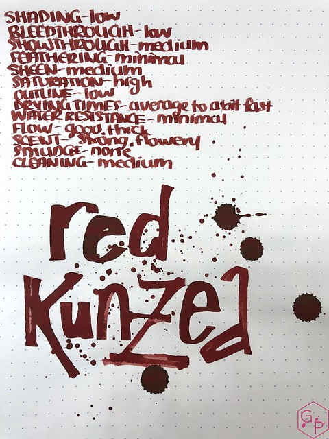 Blackstone Red Kunzea Ink Review @Appelboom 9