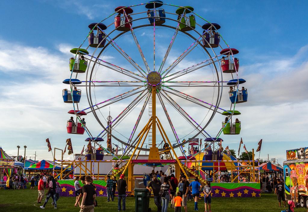 Ferris Wheel | 2018 Wayne County 4-H Fair, Richmond, Indiana