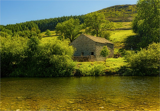 Barn by the River Wharfe