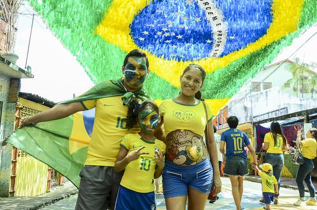 Transmissão do jogo entre Brasil e Bélgica