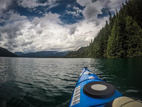 Kayaking on Baker Lake-157