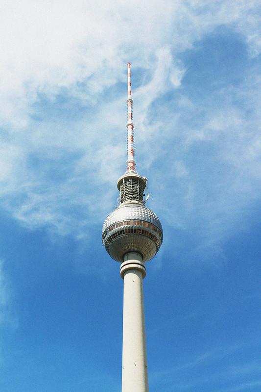 Fernsehturm Berlin vintage version