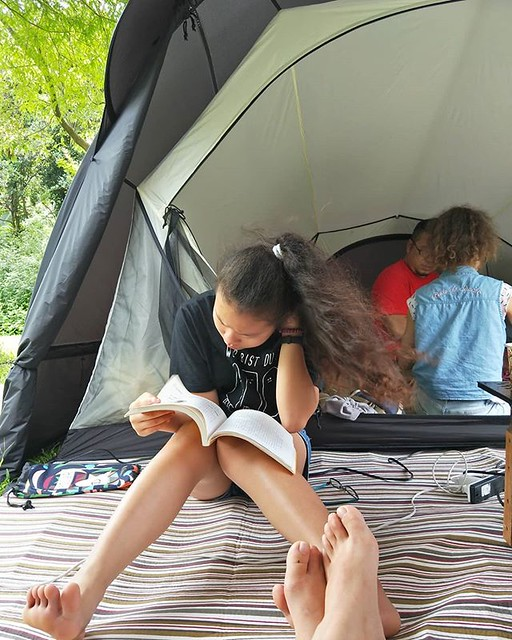 20180617 準國中生露營清晨日常 #歐北露 #campinglife #ilovecamping #MyGirls