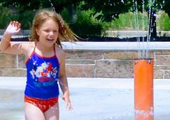 Hot Day at the Splash Pad