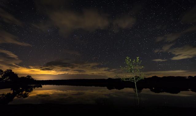 La noche en Santibañez