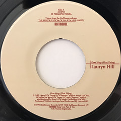 LAURYN HILL:DOO WOP(THAT THING)(LABEL SIDE-A)