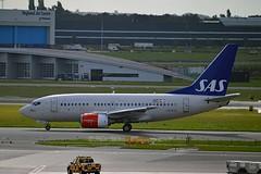 Yngvar Viking SAS Scandinavian Airline System LN-RCW Boeing 737-683 cn