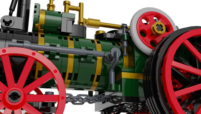 Traction Engine 11 - Lego Ideas