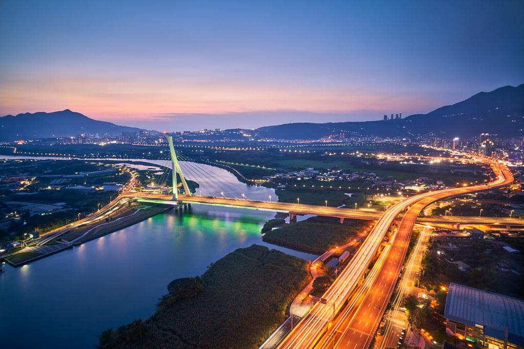 社子大橋夜景