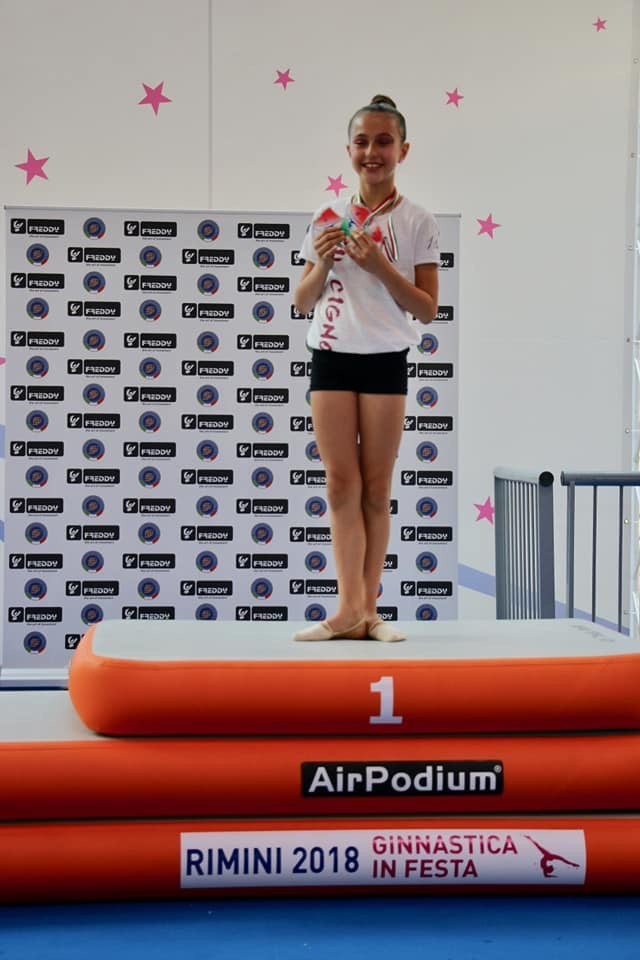 Grandi risultati per il Cigno Asd ai campionati nazionali silver della federazione ginnastica d'Italia