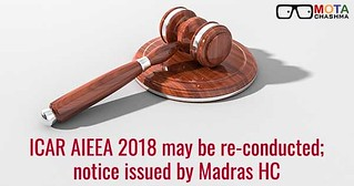 ICAR AIEEA 2018 may be reconducted