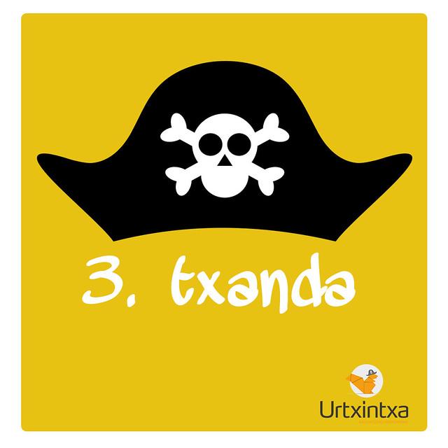3.txanda Pirata udalekuak 2018
