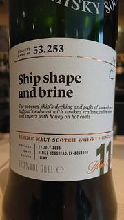 SMWS 53.253 - Ship shape and brine