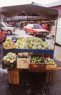 Market in Riga, Latvia (1995)