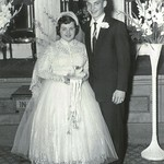 1956-04-1 Elaine+Richard Wedding