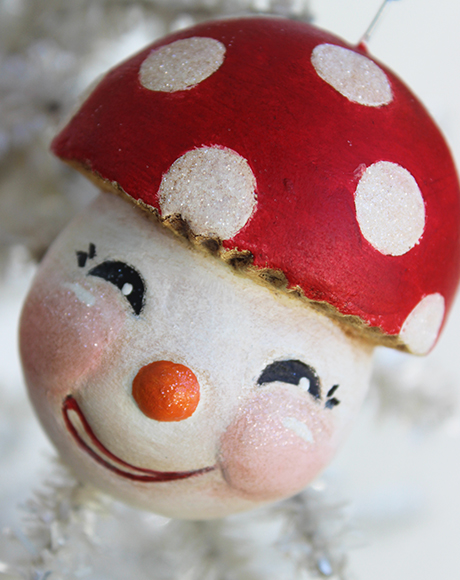 Mushroom Snowman 2