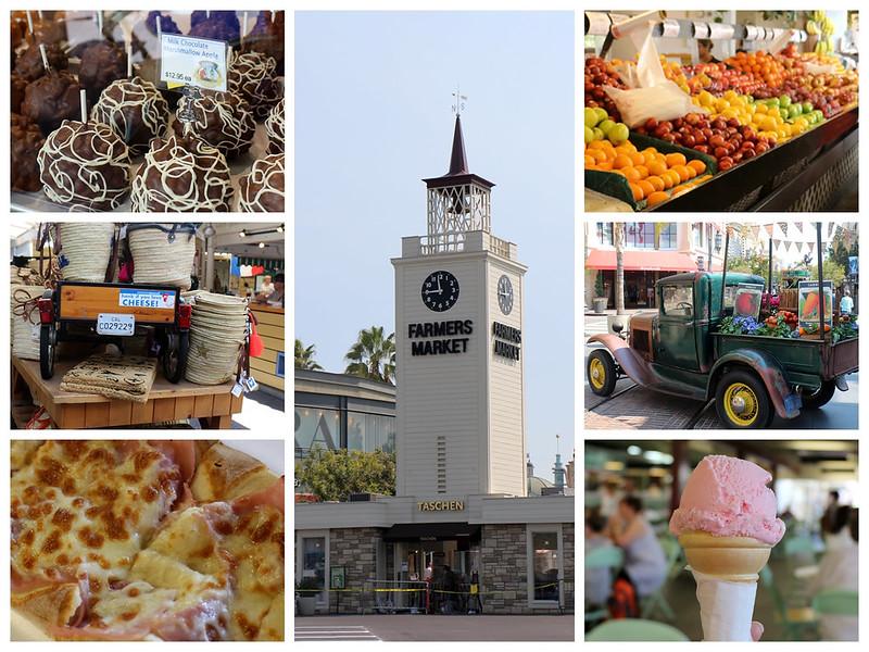 農夫市場,farmer's market,洛杉磯,南加州,美國,旅行,景點,景點介紹,景點分享