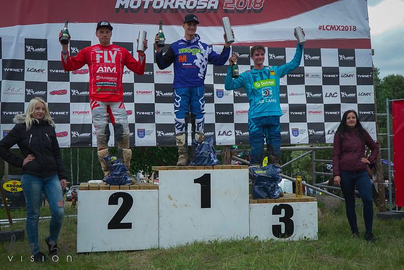 Latvijas čempionāta Storent 3.posms motokrosā (Dobele/01.07.2018.)