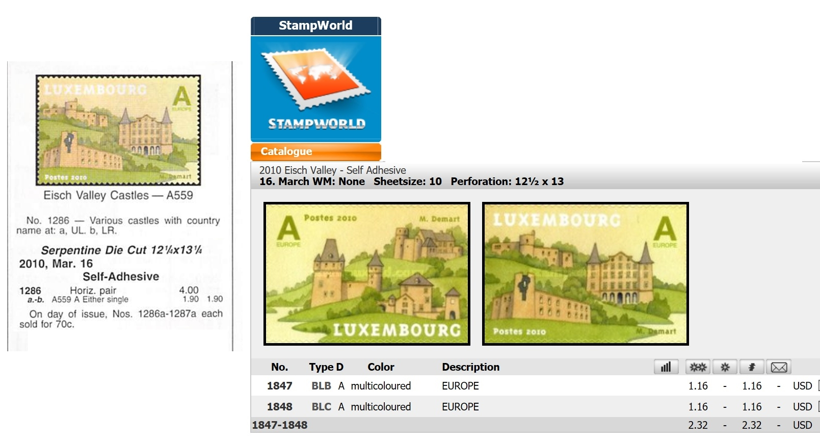 Scott Standard Postage Stamp Catalogue and online <a href=