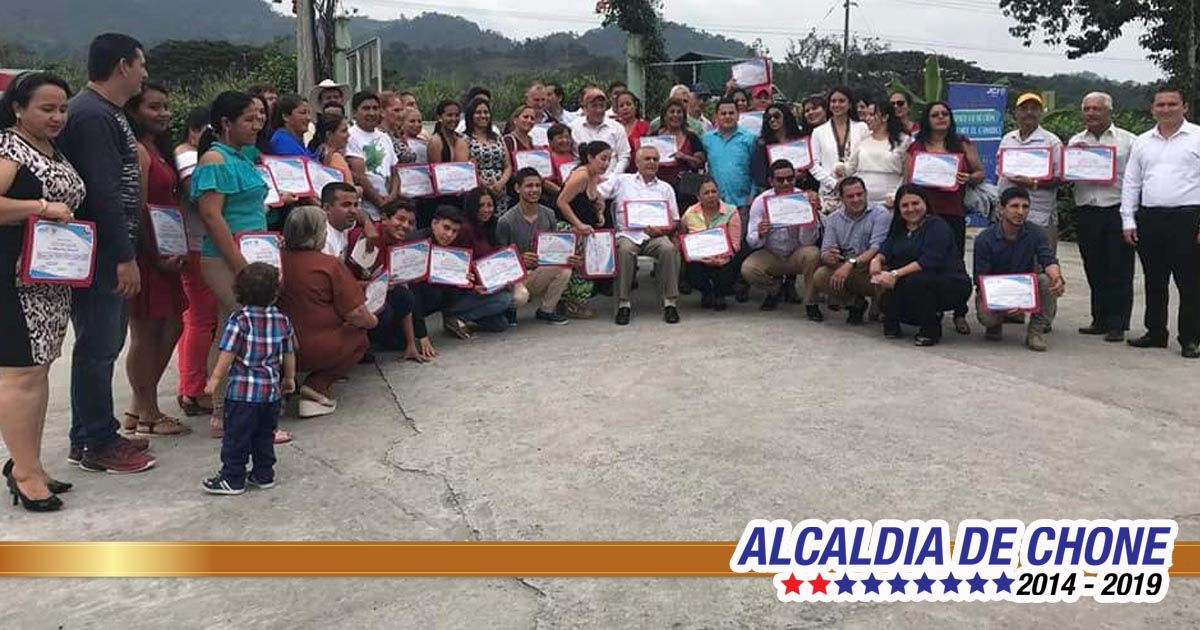 Con éxito finalizó segunda etapa del proyecto Formando Líderes