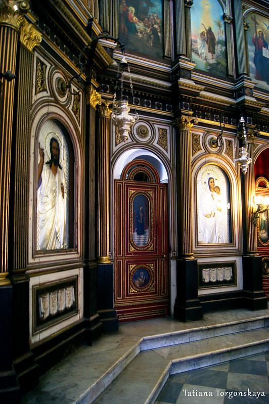 Фрагмент иконостаса церкви Св.Николая
