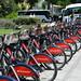 Santander Cycles at Westminster