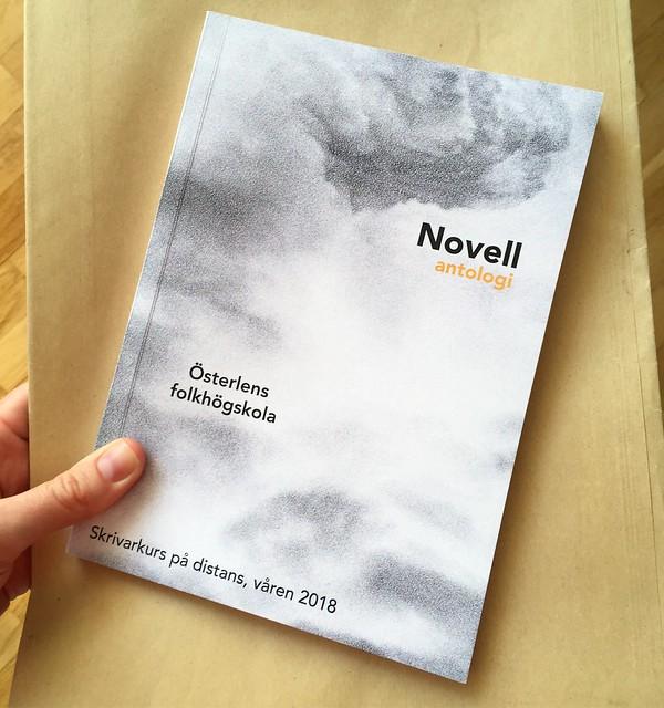 thursday, novellsamling, snöstormen, österlens folkhögskola, våren 2018