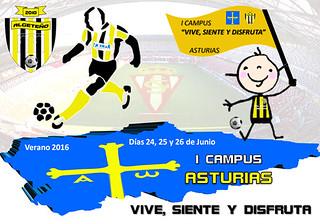 I Campus C.D Algeteño-Asturias 2016