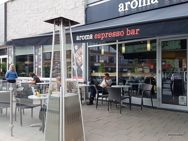 Aroma Expresso Bar Liberty Village storefront