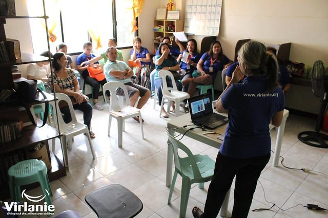 Virlanie Health Education Session