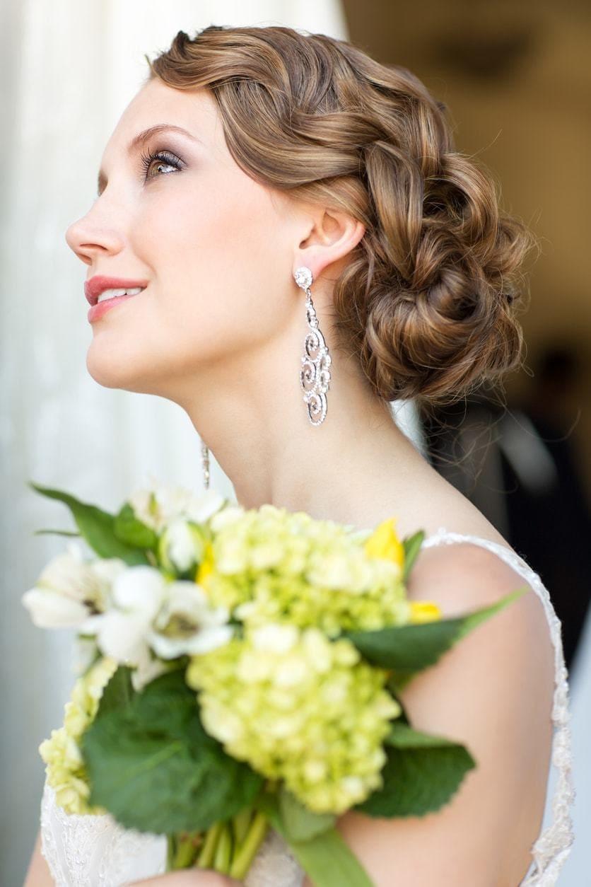 2018 Vintage Wedding Upstyles For Amazing Bridal! 4