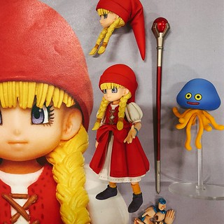 "BRING ARTS ""Dragon Quest XI"" Veronica & Serena Pre-Painted Prototype"
