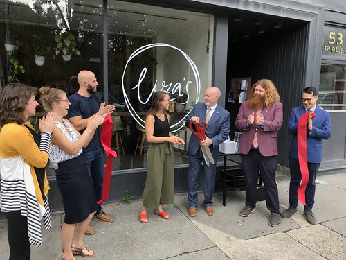 Liza's Ribbon Cutting 08-14-2018