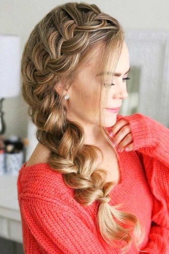 30+Most Stunning French Braid Hairstyles To Make You Amazed! 2
