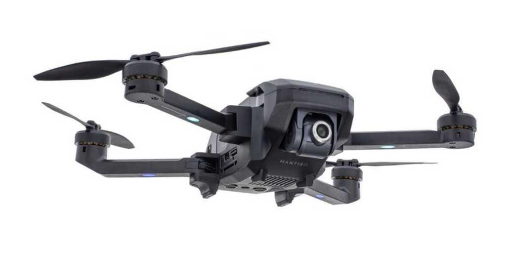 Le Mantis Q : un drone pliable pouvant filmer en 4K