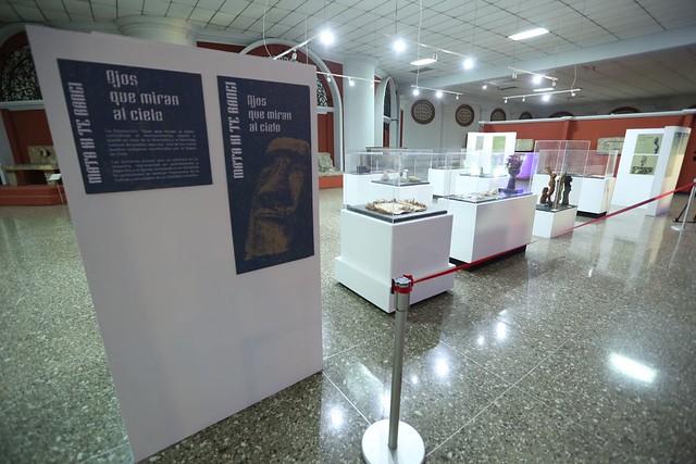 Muestra de arte Rapa Nui llega al Museo Nacional de Arqueología y Etnología