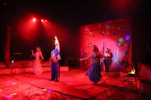 ENKHUIZE - 15 aug Voorstelling Circus Bossle