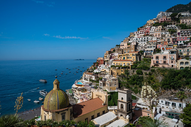 Amalfi Coast, Italy - June 2018
