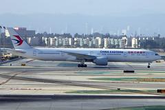 B-7368 Boeing 777-39PER CES LAX