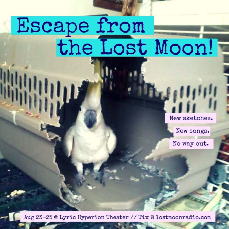 Escape From the Lost Moon Poster