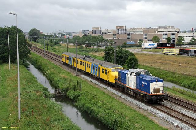 20180622 VR 203-5 + Mat'64 466, Haarlem