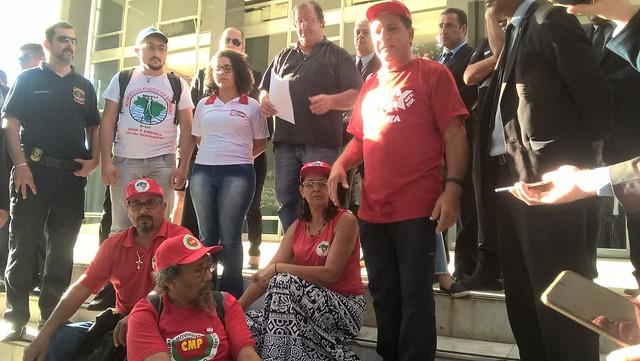 Jaime Amorim, MST-PE, é um dos seis integrantes da greve de fome - Créditos: Divulgação