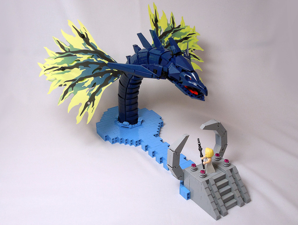 LEGO® MOC by Vitreolum: Final Fantasy XV – Leviathan Summon