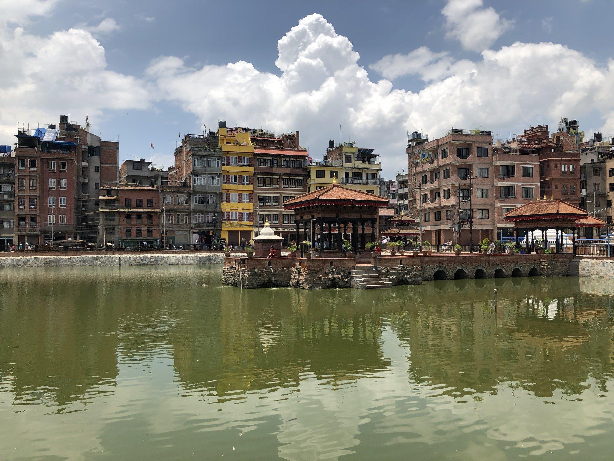 Pimbahal Pond in Patan